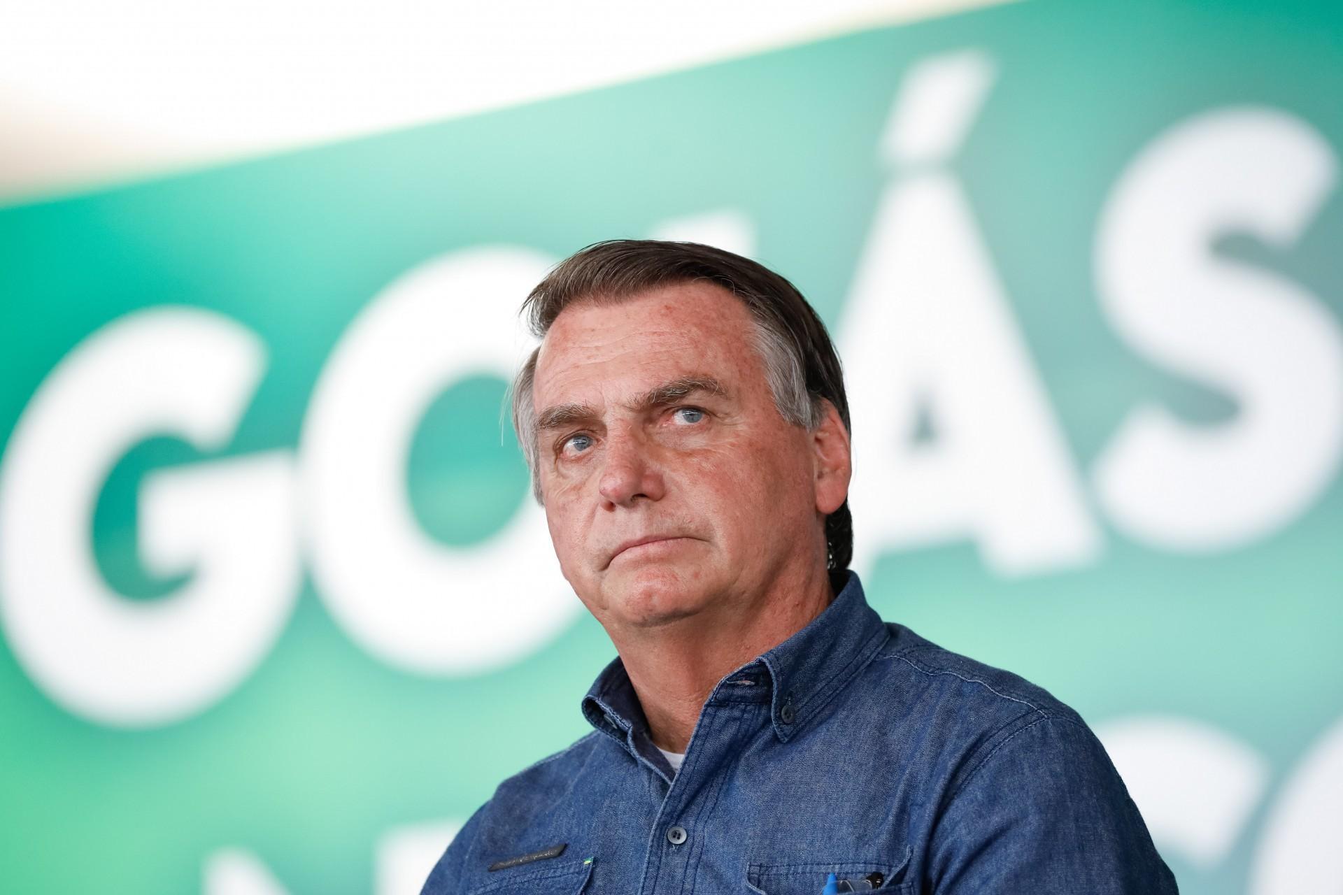 (Goiânia - GO, 28/08/2021) Presidente da República Jair Bolsonaro no encontro com Lideranças do Estado de Goiás. Foto: Alan Santos/PR (Foto: Alan Santos/PR)