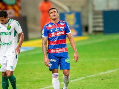 Robson chegou aos sete jogo sem marcar pelo Fortaleza