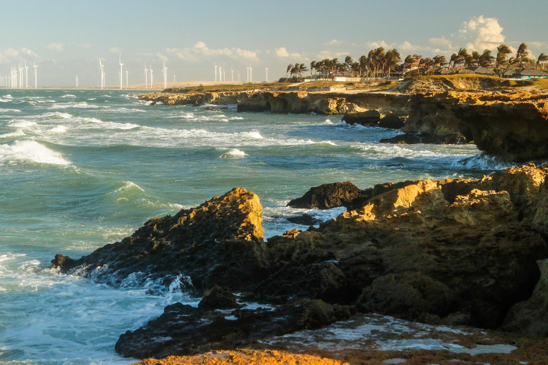 (Foto: FCO FONTENELE/O POVO)Fortim, Ce, BR - 12.08.21 Década dos Oceanos - Praia de Pontal de Maceió no município de Fortim (Fco Fontenele/O POVO)