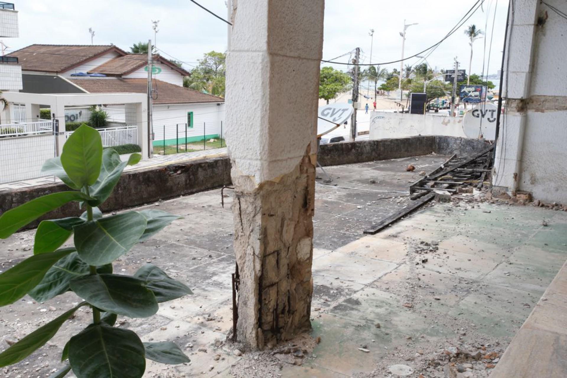 Laudos apontam recuperação inviável do edifício São Pedro