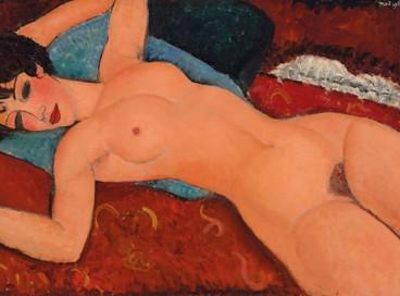 Obra de Modigliani, Nu deitado (1955), foi vendida pela Christie's por US$ 170,4 milhões; afinal, por que as obras de arte são tão caras?