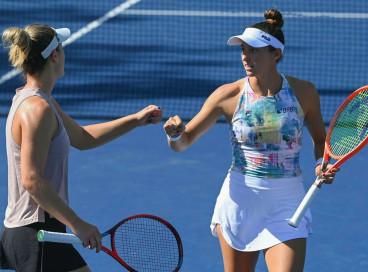 Tênis: Luisa Stefani avança na chave de duplas do US Open