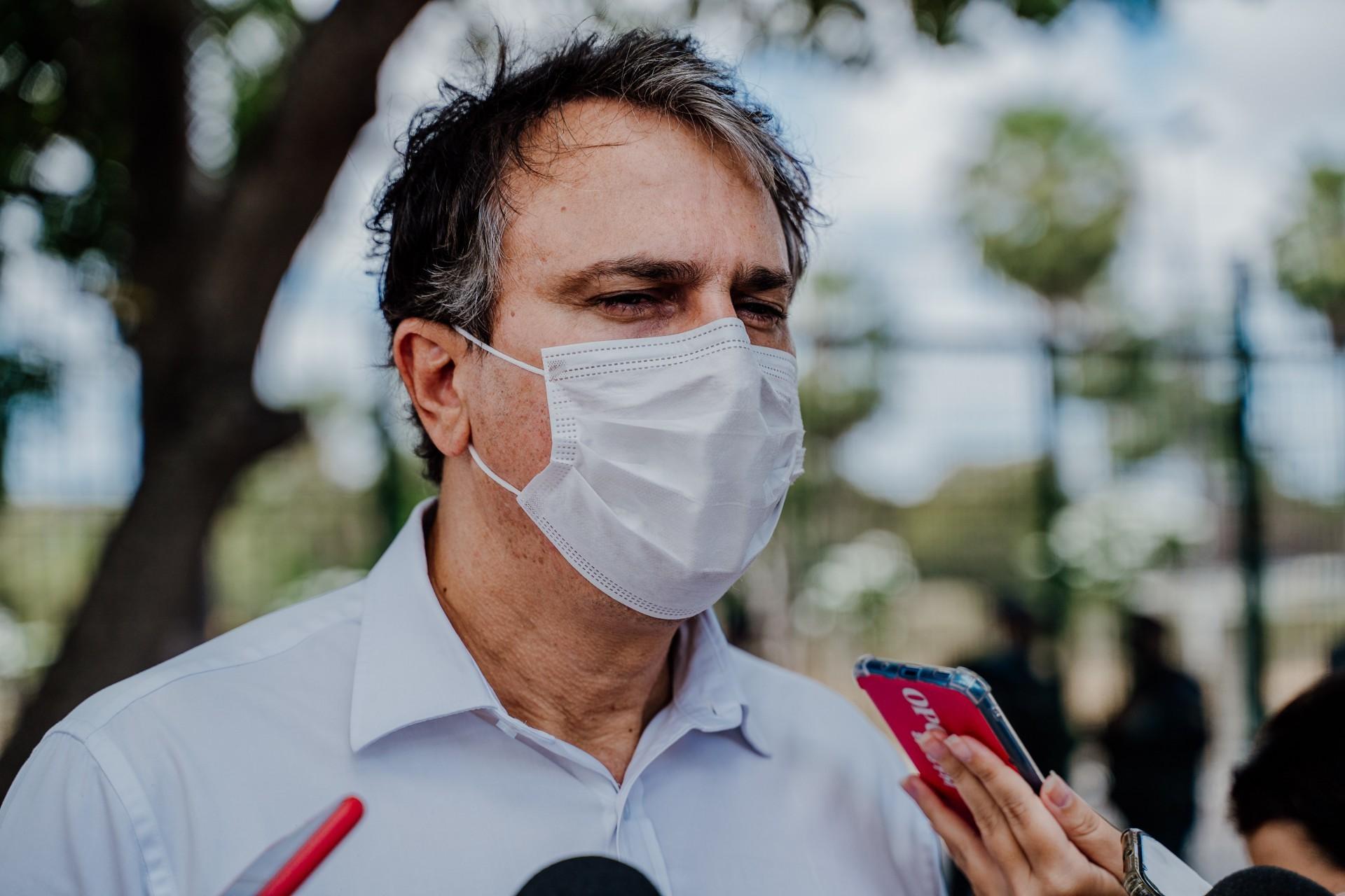 """Camilo sobre nota de Bolsonaro: """"Ninguém neste país está acima da lei e da Constituição"""" (Foto: JULIO CAESAR)"""