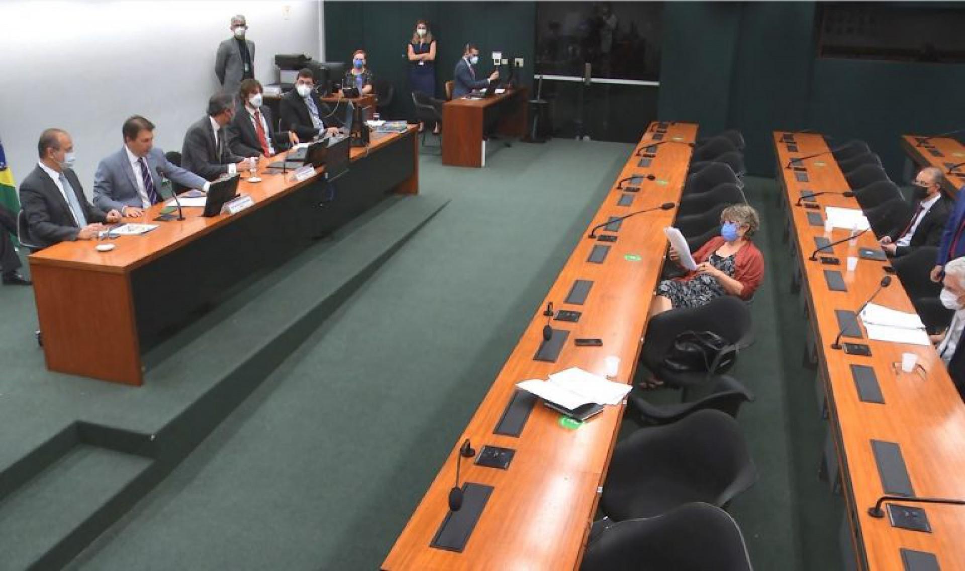 Reunião na comissão (Foto: Agência Câmra)