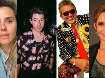Carolina Dieckmann, Nick Jonas, Falcão e Andréa Beltrão são alguns dos famosos que fazem aniversário hoje, 16 de setembro (16/09); confira lista