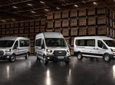 A Transit, referência mundial do segmento de vans, será produzida no Uruguai para os mercados da região