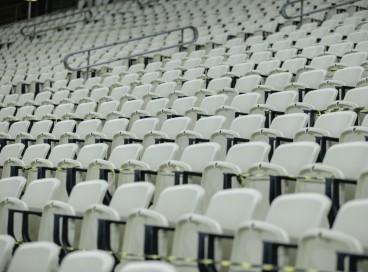 FORTALEZA, CE, BRASIL, 15-09.2021: Arquibancadas da Arena Castelão vazias. em epoca de COVID-19. (Foto:Aurelio Alves/ Jornal O POVO)