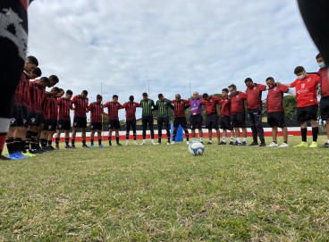 O Atlético Cearense finalizou a preparação para encarar o Juazeirense, pela 2ª fase da Série D.