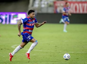 Éderson será titular do Fortaleza na partida contra o Internacional-RS