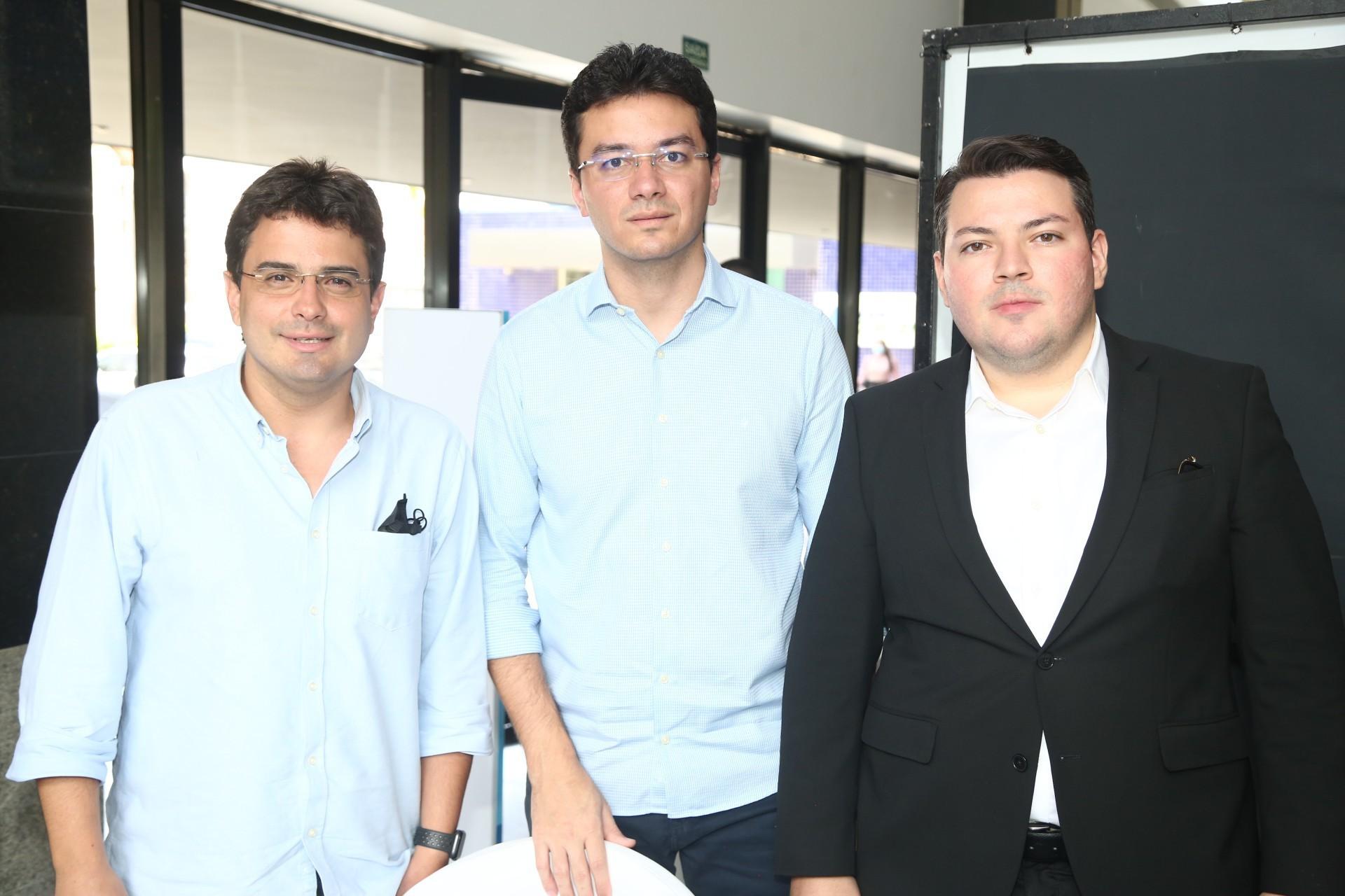 (Foto: Paulo Maximo/ Frisson/ Divulgação)Ricardo Frota, Fernando Hélio e David Aguiar