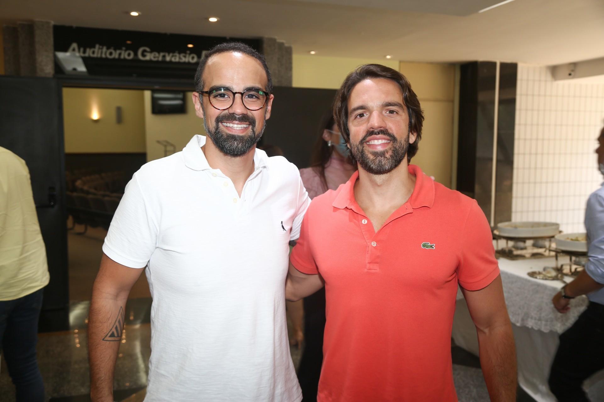 (Foto: Paulo Maximo/ Frisson/ Divulgação)Tavinho Brígido e Davi Correa