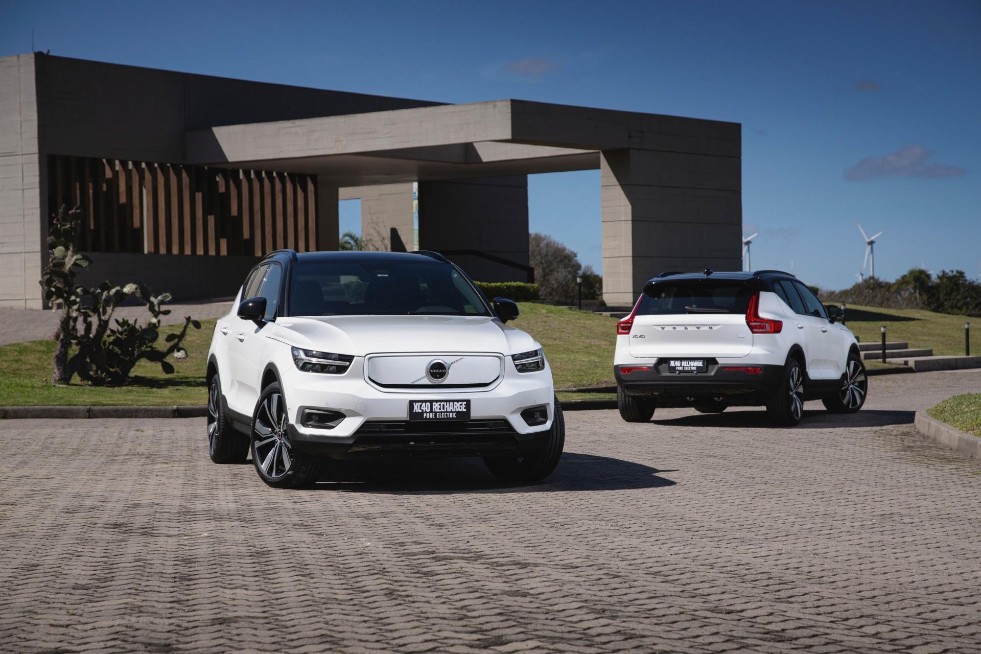 Volvo lança XC40 Pure Eletric por R$ 389.950,00