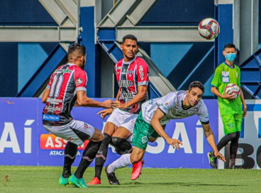 FERRÃO arrancou um ponto na casa do vice-líder Manaus