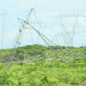 Desmonte de peças de linhas de transmissão da Chesf colocam o Ceará sob risco de apagão