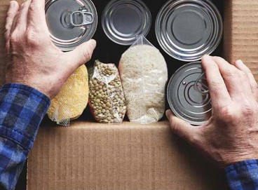 Até o momento, a campanha #Alimentayzg já arrecadou 4.862 kg de alimentos.