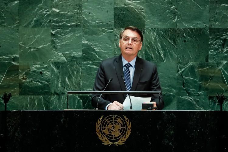 Assista ao discurso do presidente Bolsonaro na ONU