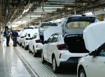 Fábricas da GM de São Caetano do Sul (SP) e de Gravataí (RS) - foto -  já têm data para a volta do segundo turno de trabalho
