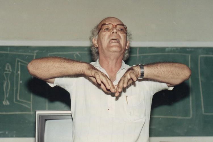 Além do cinema, Eusélio Oliveira também atuava no movimento literário. (Foto: Arquivo pessoal)