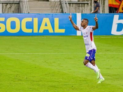 Benevenuto já marcou três gols no Brasileirão