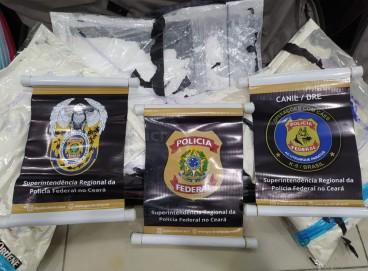 Um casal foi preso nesse domingo, 26, ao tentar embarcar para Lisboa com mais de nove quilos de cocaína no Aeroporto de Fortaleza.