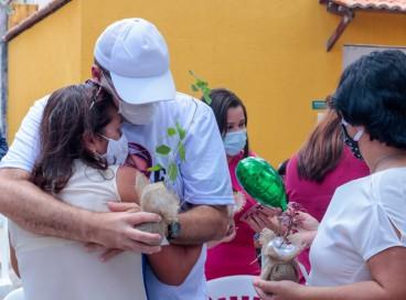 9ª Edição do Encontro das Famílias Doadoras aconteceu nos jardins do Centro Cultural Casa Barão de Camocim
