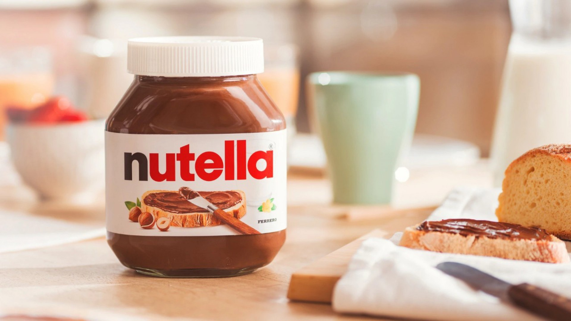 Apesar de ser vendido como creme de avelã e cacau, principais ingredientes da Nutella são açúcar (50%) e óleo de palma (30%)