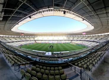 Castelão segue como palco único dos jogos dos times cearenses na elite do futebol brasileiro