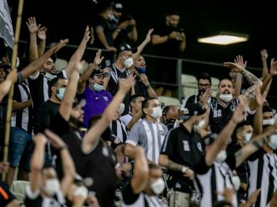 Torcedores poderão acompanhar novamente o Ceará no Castelão contra o Bragantino, no domingo, 17