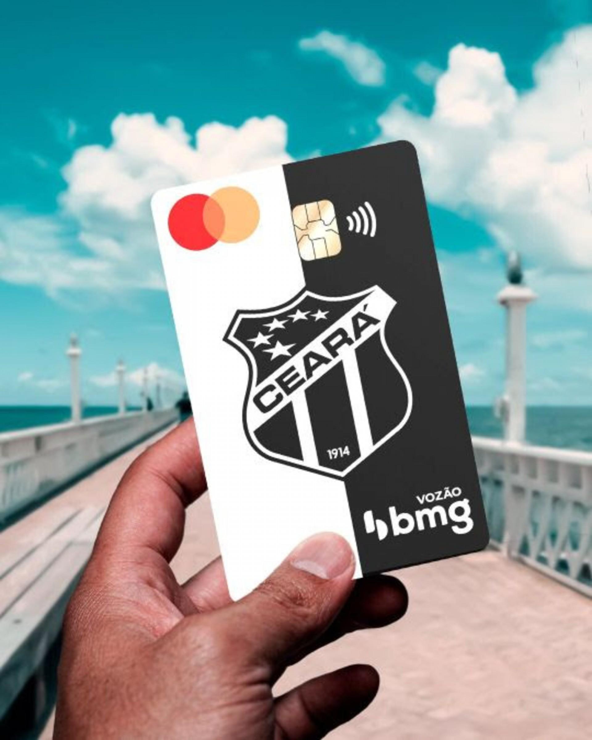 Bmg lança conta digital com benefícios para torcedores do Ceará