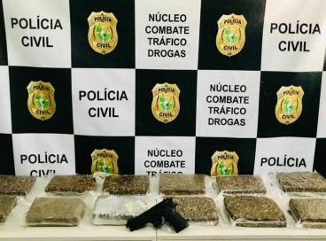 Apreensão de drogas no Cariri pela Polícia Civil