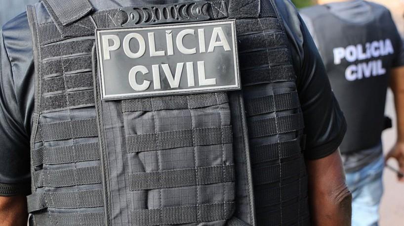 A prisão ocorreu após troca de informações com a Divisão de Capturas da Polícia Civil da São Paulo, responsável pela localização da suspeita. (foto: Polícia Civil da Bahia)