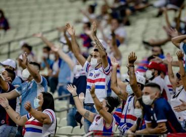 Volta da torcida tricolor ocorreu no confronto contra o Atlético-GO, no dia 2 de outubro