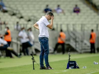 Derrota para o Atlético-MG na Copa do Brasil foi a mais elástica sofrida pelo Fortaleza com Vojvoda.