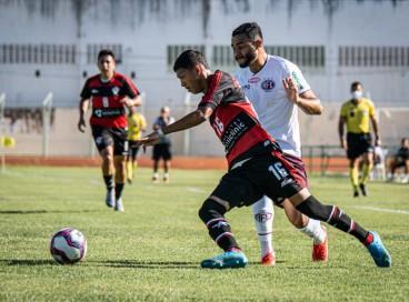 Atlético-CE e Ferroviária ficaram no 1 a 1 na ida, no Domingão, em Horizonte