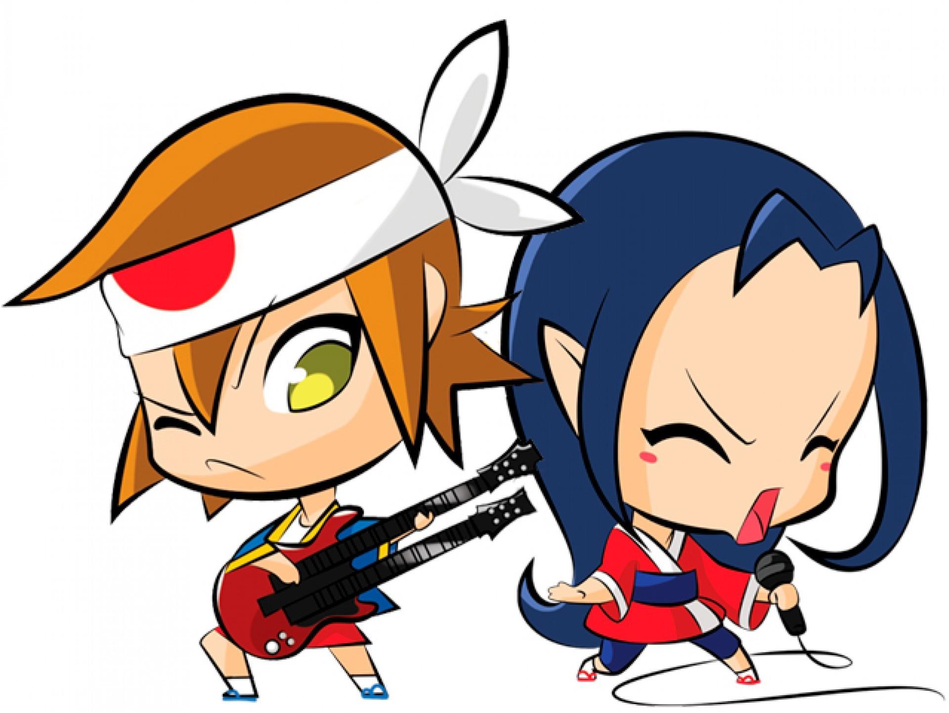 San e Ana são os mascotes oficiais do Sana, maior evento de cultura geek e pop do Norte e Nordeste do Brasil. O encontro acontece duas vezes ao ano, em Fortaleza, no Ceará (janeiro e julho)
