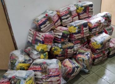Os materiais arrecadados serão doados às famílias assistidas pelo Instituto de Apoio à Criança com Câncer (IACC), em Barbalha (Foto da campanha realizada no ano passado)