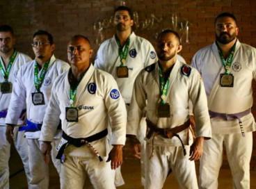 Medalhistas da equipe Nova União Ceará