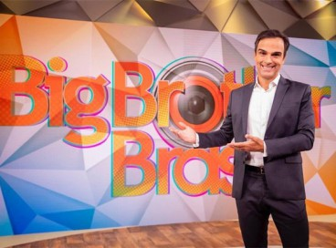 Tadeu Schmidt é o novo apresentador do Big Brother Brasil