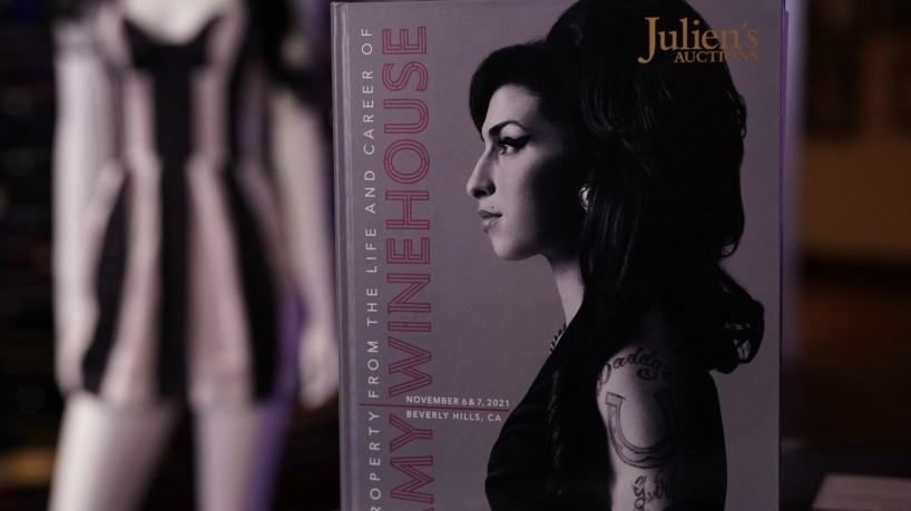 Peças pessoais de Amy Winehouse vão para leilão(foto: TIMOTHY A. CLARY / AFP)