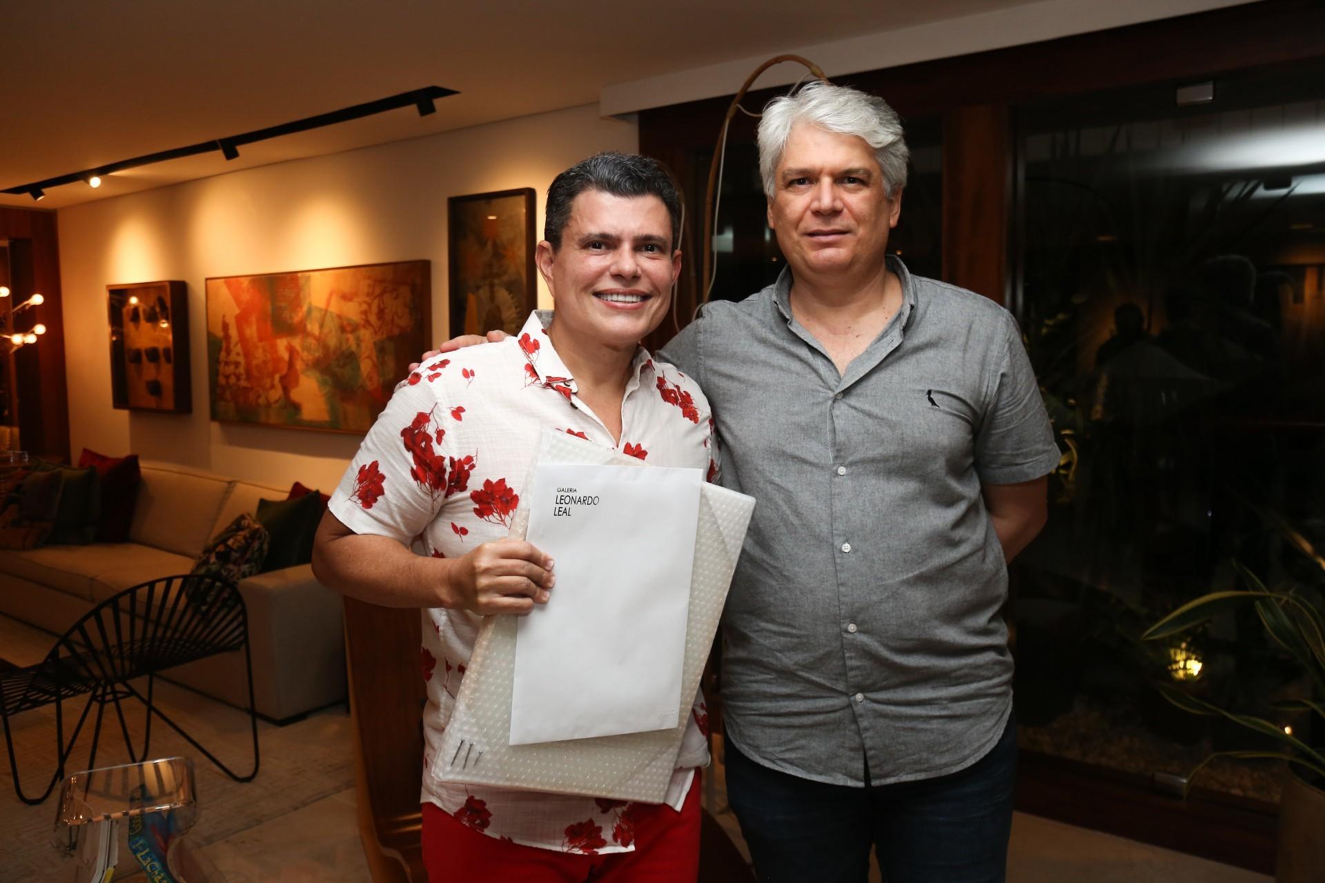 Abelardo Targino e Leonardo Leal (Foto: João Filho Tavares/O POVO)