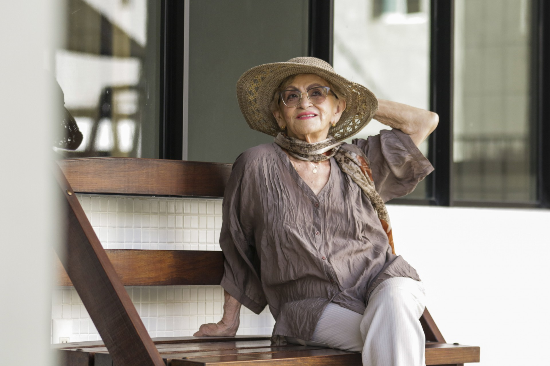 Cantora Marivalda Kariri comemora 80 anos com repertório de músicas lusitanas  (Foto: (Thais Mesquita/OPOVO))