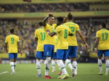 Seleção Brasileira lidera disputa das eliminatórias da Copa de 2022