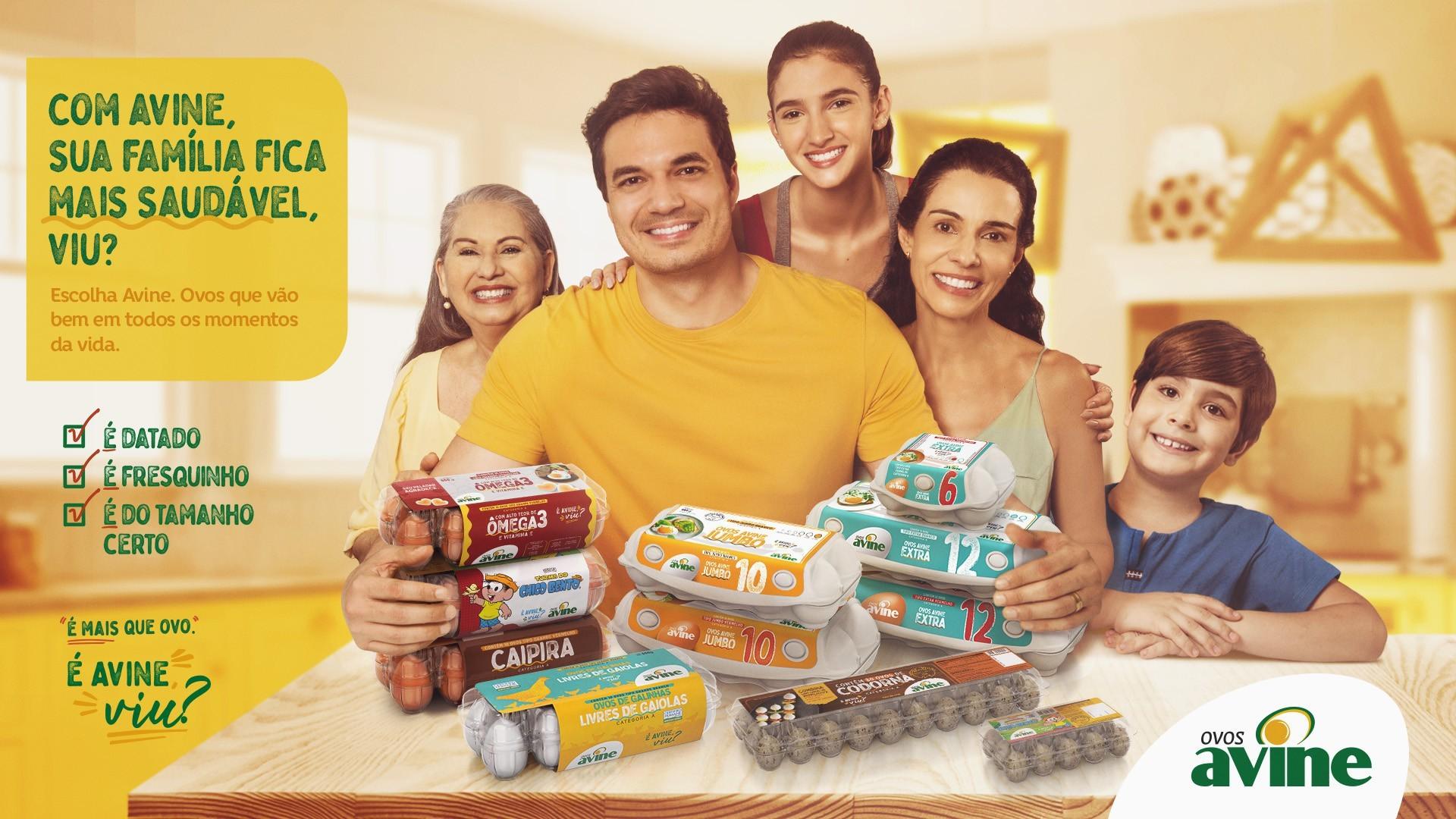 Avine Alimentos apresenta nova campanha