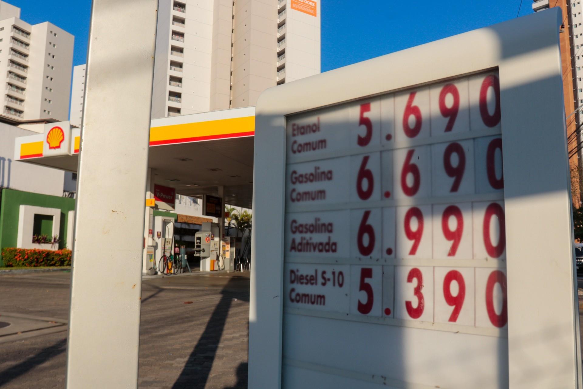 Paliativos não vão mudar o litro da gasolina de R$ 7