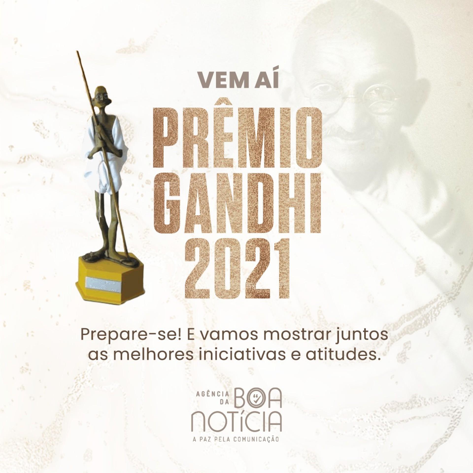 Inscrições abertas paraPrêmio Gandhi de Comunicação 2021