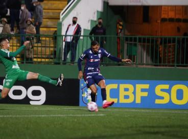 Chapecoense e Fortaleza se enfrentaram pela 27ª rodada da Série A do Brasileirão. Bruno Melo marcou gol para o Leão.