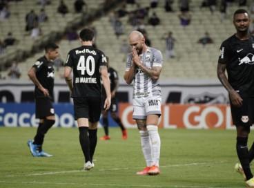 Marlon lamenta chance desperdiçada pelo Ceará contra o Bragantino