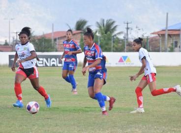 Fortaleza venceu a Menina Olímpica por 2 a 0 na tarde desta segunda-feira, 18, no Moraisão, pelo Campeonato Cearense Feminino.