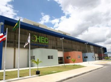 O recém-nascido está internado no Hospital da Criança, no município de Feira de Santana