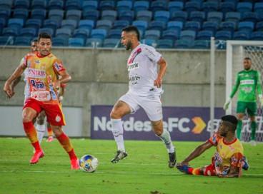Ferroviário e Juazeirense-BA se enfrentaram na Arena Dunas, em Natal (RN), em jogo válido pela segunda fase das Eliminatórias da Copa do Nordeste 2022